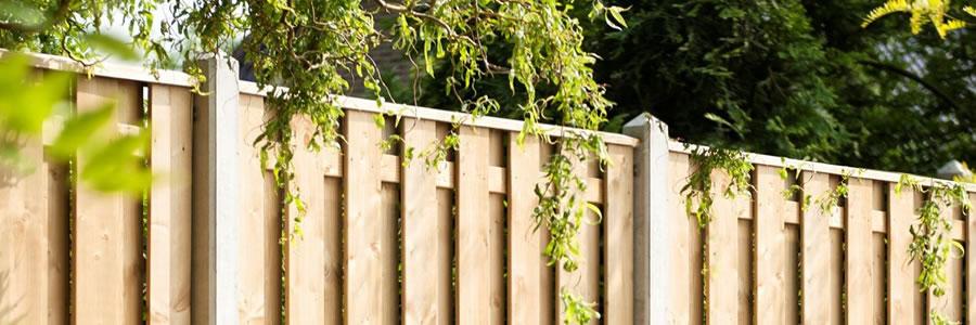 Erfafscheidingen en tuinafscheidingen